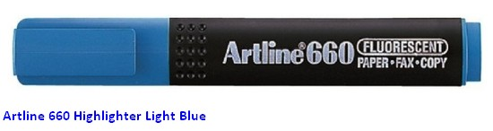 Supplier ATK Artline 660 Stabilo Light Blue Harga Grosir