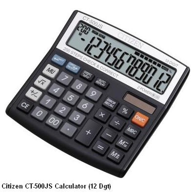 Supplier ATKCitizen Kalkulator CT-500JS  (12 Digit) Harga Grosir