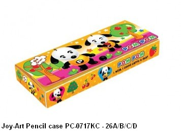 Supplier ATK Joy-Art Tempat Pensil PC-0717KC - 26A/B/C/D Harga Grosir