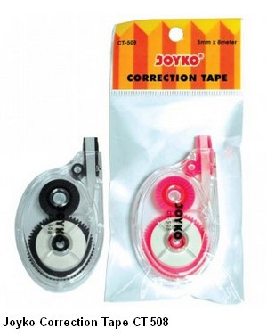 Supplier ATK Joyko Correction Tape CT-508 Harga Grosir