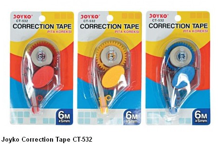 Supplier ATK Joyko Correction Tape CT-532 Harga Grosir