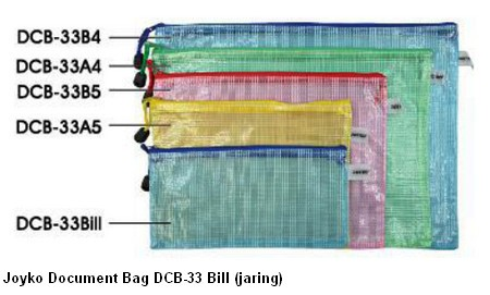 Supplier ATK Joyko Document Bag DCB-33 Bill (jaring) Harga Grosir
