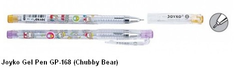 Supplier ATK Joyko Gel Pen GP-168 (Chubby Bear) Harga Grosir