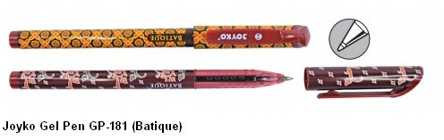 Supplier ATK Joyko Gel Pen GP-181 (Batique) Harga Grosir