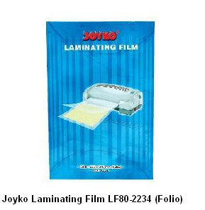 Supplier ATK Joyko Laminating Film LF80-2234 (Folio) Harga Grosir