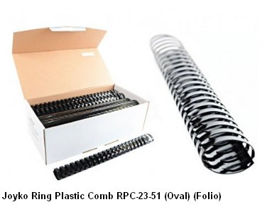 Supplier ATK Joyko Ring Plastic Comb RPC-23-51 (Oval) (Folio) Harga Grosir