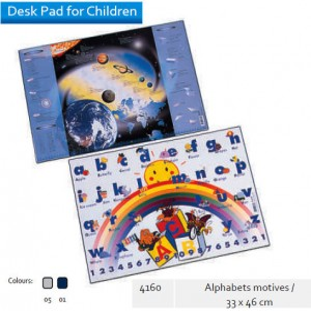 Supplier ATK Bantex 4160 Desk Pad for Alphabets Motives 33 x 46 cm Harga Grosir