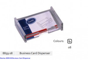 Supplier ATK Bantex 8859-08 Business Card Dispenser Harga Grosir