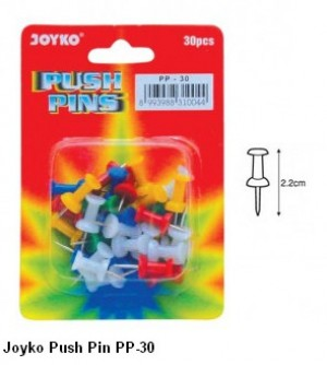 Supplier ATK Joyko Push Pin PP-30 Harga Grosir
