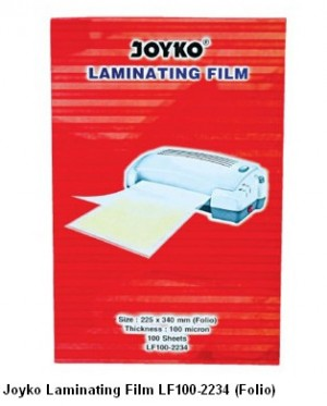 Supplier ATK Joyko Laminating Film LF100-2234 (Folio) Harga Grosir