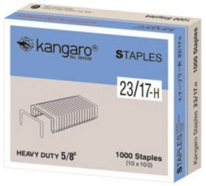 Supplier ATK Kangaro Isi Staples No.23/17-H Harga Grosir