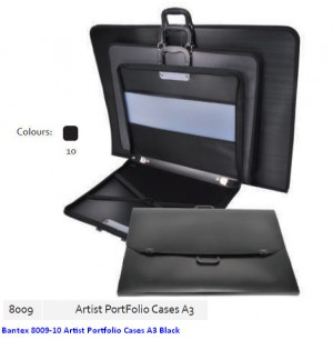 Supplier ATK Bantex 8009-10 Artist Portfolio Cases A3 Black Harga Grosir