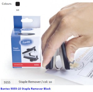 Supplier ATK Bantex 9355-10 Staple Remover Black Harga Grosir