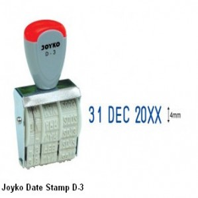 Supplier ATK Joyko Stempel Tanggal D-3 Harga Grosir
